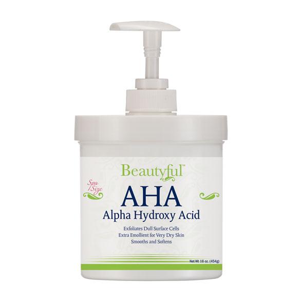 Aha alpha hydroxy acid creams