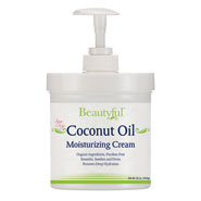 Beauty Basics - Coconut Oil Moisturizing Cream - 16 oz.