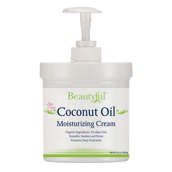 Coconut Oil Moisturizing Cream, 16 Oz.