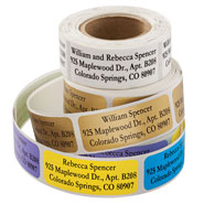 Hobbies & Books - Personalized Large Print Address Labels, Set of 200