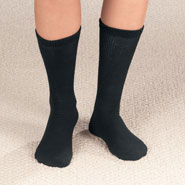 New - Diabetic Crew Socks, 2 Pair
