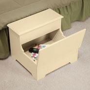 Home Necessities - Wooden Storage Step Stool              XL