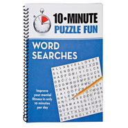 Hobbies & Books - Brain Games® 10-Minute Puzzle Fun Word Search Book