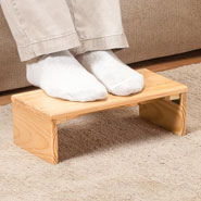 Hobbies & Books - Folding Footrest