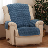 Home Comforts - Chenille Recliner Furniture Protector by OakRidge Comforts™