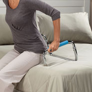 Bedroom - Push Up bed assist bar