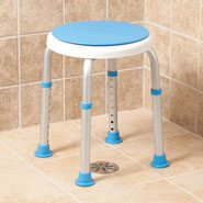 Bathroom Safety - Compact Swivel Shower Stool
