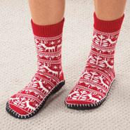 Comfort Footwear - Nordic Non-Skid Slipper Socks