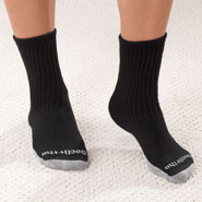 Diabetic Hosiery - Antimicrobial DocOrtho™ Silver Diabetic Socks - 2 Pack