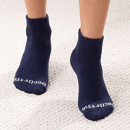 New - Quarter Cut DocOrtho™ Diabetic Socks - 3 Pack