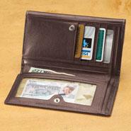 Apparel Accessories - PierCarlo d'Alessio Ladies Leather Wallet