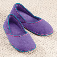Comfort Footwear - Washable Micro Chenille Slippers