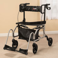 Wheelchairs & Accessories - Carex Ultra Transport Chair XL