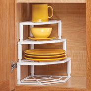 Kitchen Helpers - Multi-Tier Corner Cabinet Organizer