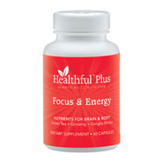 Dietary Supplements - Healthful™ Plus Focus & Energy