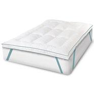 "Bedding & Accessories - Soft-Tex™ 2.5"" Memory Foam and Fiber Bed Mattress Topper"