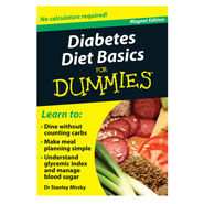Kitchen Helpers - Diabetes Diet Basics Refrigerator Magnet Book For Dummies®