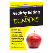 Buy Healthy Eating Refrigerator Magnet Book For Dummies from Easy Comforts
