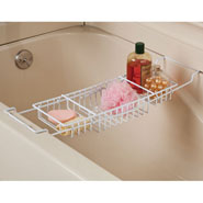 New - Expandable Bathtub Caddy