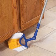 Home Necessities - Telescoping Corner Broom with Swivel Head