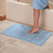 Home Comforts - Microfiber Memory Foam Bath Mat