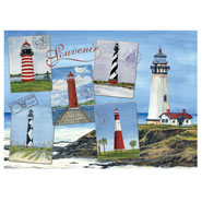 Hobbies & Books - Lighthouses Jigsaw Puzzle - 750 Pieces