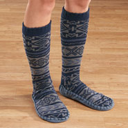 Footwear - Men's MUK LUKS® Slipper Socks