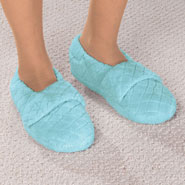 New - Chenille Stretch Slippers