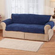 New - Sherpa Sofa Protector by OakRidge Comforts™