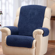 New - Sherpa Recliner Protector by OakRidge Comforts™