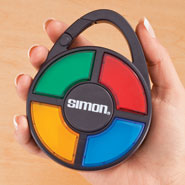 Hobbies & Books - Handheld Simon Game