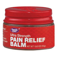 Pain Remedies - Ultra Strength Pain Relief Balm