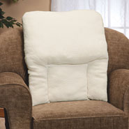 Cushions & Chair Pads - High Back Sherpa Pillow