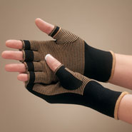 Braces & Supports - Copper Compression Gloves