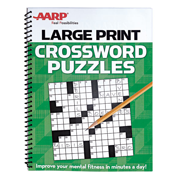 AARP Large Print Crossword Puzzles - Crossword Puzzles - Easy Comforts