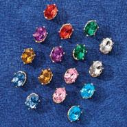 Apparel Accessories - Crystal Earrings, Set of 8