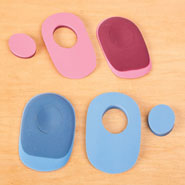 Foot Care - PRoFOOT Donut Heel Pads, 1 Pair