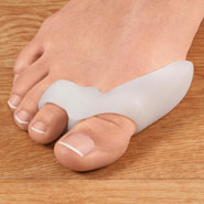 New - Healthy Steps™ Gel Bunion Toe Spreader with Straightening Loop, 1 Pair