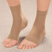 Braces & Supports - Compression Ankle Sleeve, 1 Pair