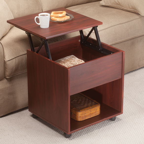 Lift-Top End Table - Small end Table - Wooden End Table ...