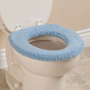 Bathroom Accessories - Sherpa Toilet Seat Cover by OakRidge Comforts ™