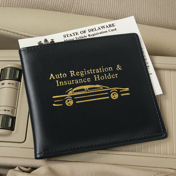Car Insurance And Registration Holder