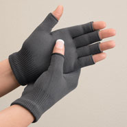 Braces & Supports - Bamboo Charcoal Gloves, 1 Pair