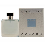 New - Azzaro Chrome - EDT Spray