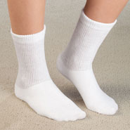 Compression Hosiery - Healthy Steps™ Extra Plush Diabetic Socks - 3 Pack