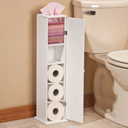 Bathroom Accessories - Toilet Tissue Tower by OakRidge Accents™