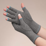 New - Colored Compression Gloves For Arthritis, 1 Pair