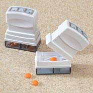 Medicine Storage - Pill Splitter/Storage, Set of 2
