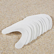 New - Adhesive Denture Cushions, Set of 30