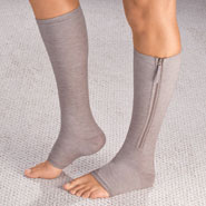 Clearance - Magnetic Zipper Compression Socks